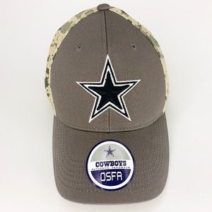 811ceb5af94 Dallas Cowboys Cap Hat Adjustable Velcro Camo
